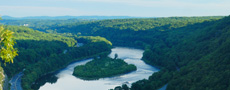 Pennsylvania and Poconos Mountains