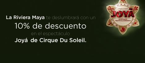 """""""Cirque du Soleil Riviera Maya Noviembre, 2015 Se de los primeros en obtener boletos"""""""