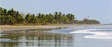 Praia em Guanacaste, Costa Rica